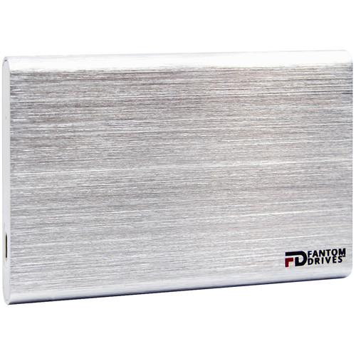Fantom GFORCE 480GB USB 3.1 Type-C External SSD (Windows, Silver)