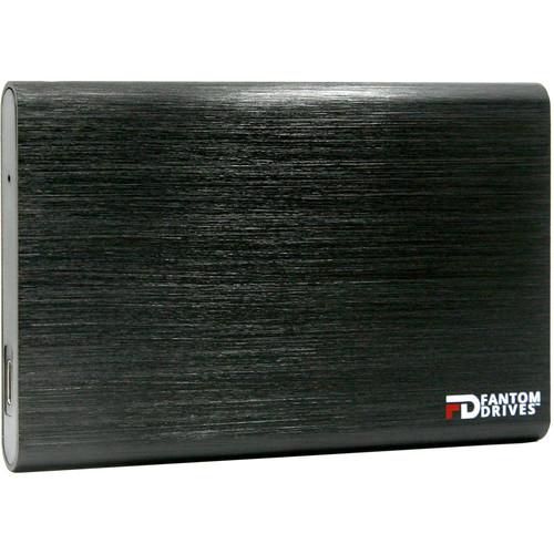 Fantom GFORCE 500GB USB 3.1 Type-C External SSD (Windows, Black)