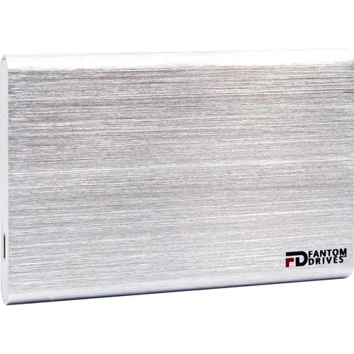 Fantom GFORCE 500GB USB 3.1 Gen 2 Type-C External SSD & PCIe USB 3.1 Gen 2 Host Adapter Bundle (Mac, Silver)