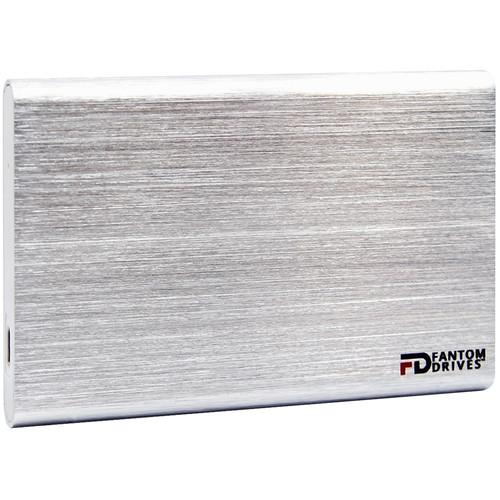 Fantom GFORCE 500GB USB 3.1 Type-C External SSD (Windows, Silver)