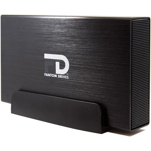 Fantom 12TB G-Force3 USB 3.0/eSATA Aluminum External Hard Drive (Black)