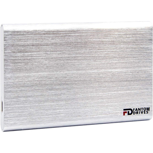Fantom 2TB 5400Rpm USB 3.1 Gen 2 Portable - Silver