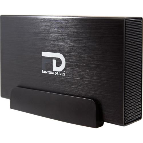 Fantom 12TB Professional USB 3.0/eSATA External Hard Drive (Black)