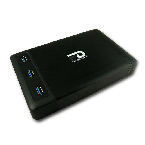 Fantom 3TB USB 3.1 Gen 1 Xbox External Hard Drive with 3-Port USB Hub