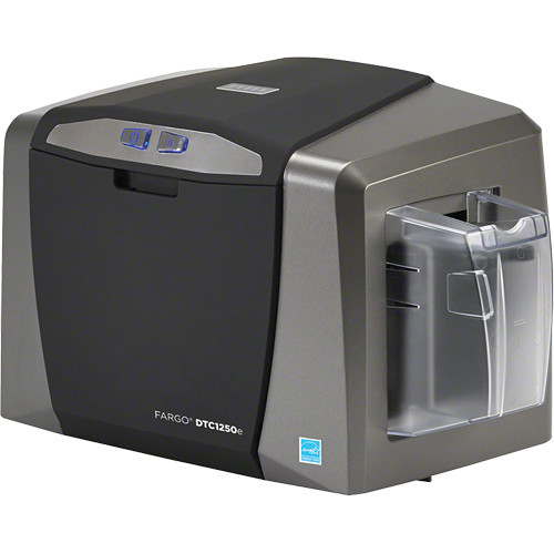 Fargo DTC1250e Single-Sided ID Card Printer with Magnetic Stripe Encoder