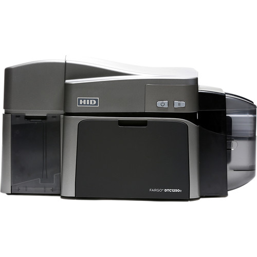 Fargo DTC1250e Dual-Sided ID Card Printer with Magnetic Stripe Encoder