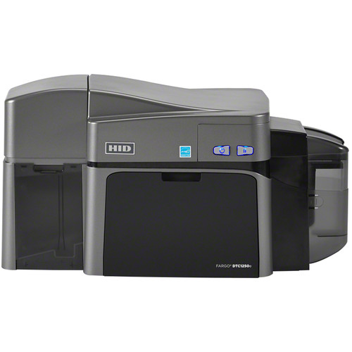 Fargo DTC1250e Dual-Sided ID Card Printer with Magnetic Stripe Encoder, Ethernet, and Internal Print Server