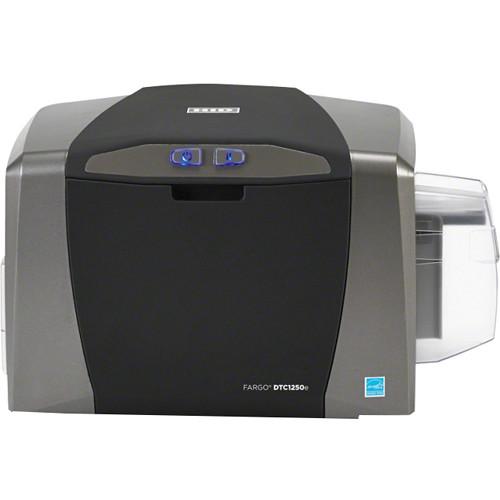 Fargo DTC1250e Single-Sided ID Card Printer System