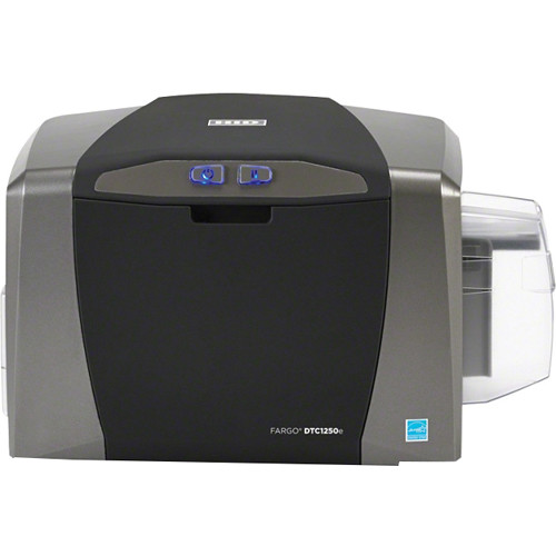Fargo DTC1250e Single-Sided ID Card Printer System