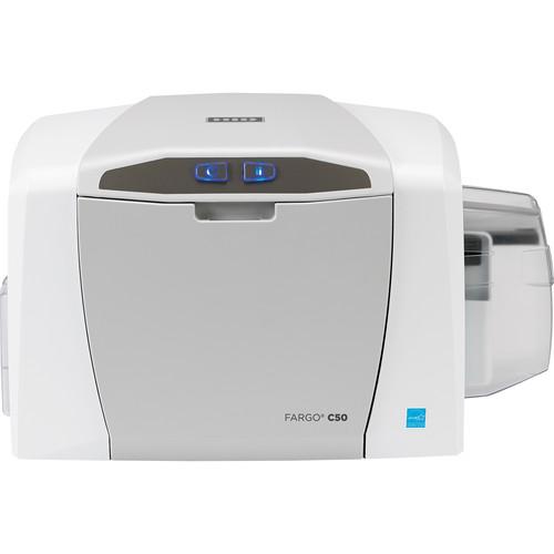 Fargo C50 ID Card Printer with Asure ID 7 Solo & Webcam