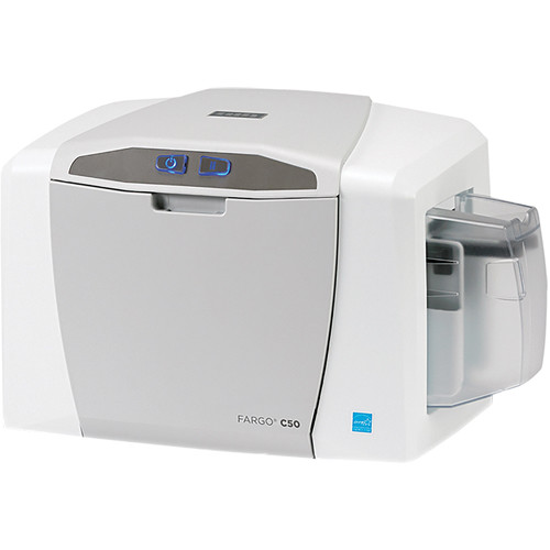 Fargo C50 ID Card Printer with Asure ID 7 Express & Webcam