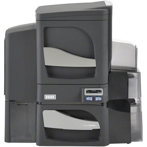 Fargo DTC4500e Dual-Sided Card Printer with Single-Sided Lamination, Magnetic Stripe Encoder, & Omnikey 5127 Smart Card Encoder