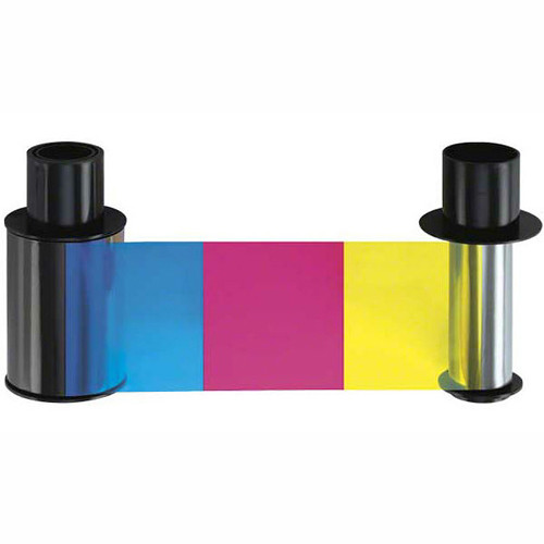 Fargo YMCKK Half-Panel Color Ribbon for HDP5000 Printers