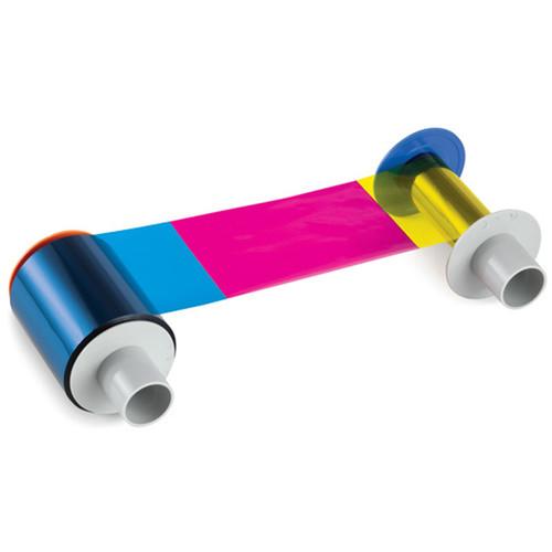 Fargo YMCKIKI Full-Color Ribbon with Two Inhibitor Panels