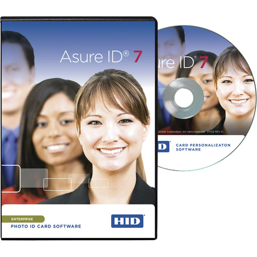 Fargo Asure ID 7 Enterprise Card Personalization Software (CD-ROM)