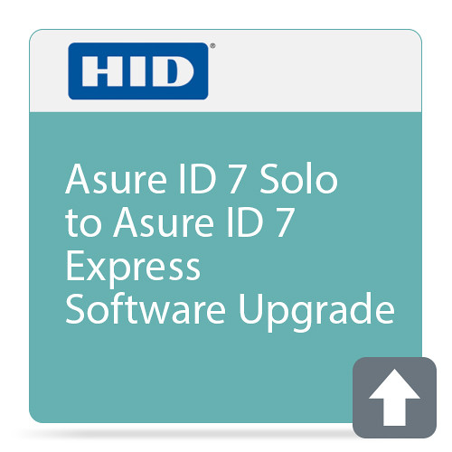 Fargo Asure ID 7 Express (Upgrade from Asure ID 7 Solo)