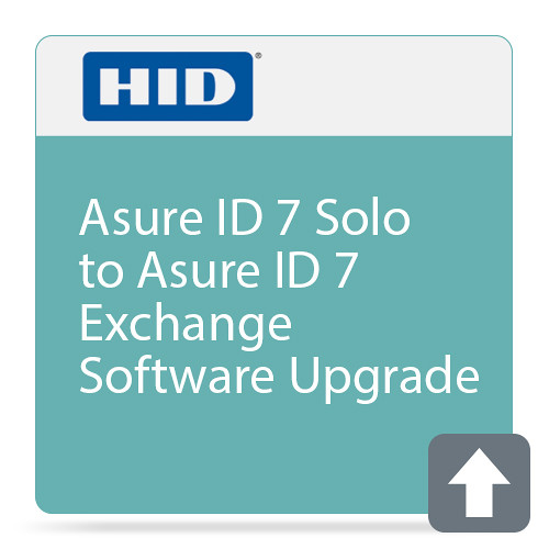 Fargo Asure ID 7 Solo to Asure ID 7 Exchange Software Upgrade