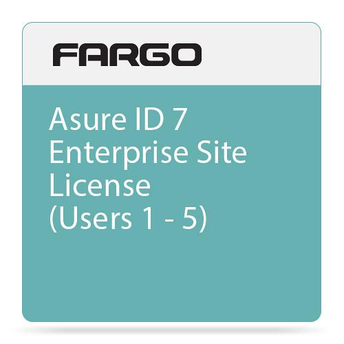 Fargo Asure ID 7 Enterprise Site License (Users 1 through 5)