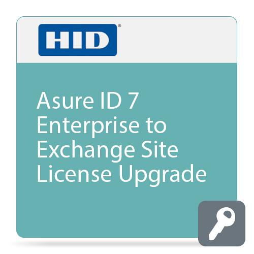 Fargo Asure ID 7 Enterprise to Exchange Site License Upgrade (Price for License 1 through 5)