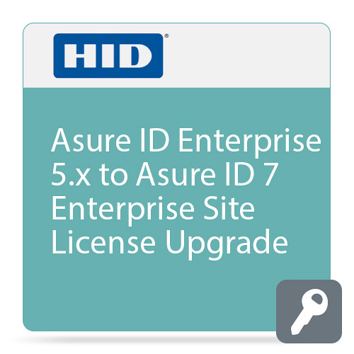 Fargo Asure ID Enterprise 5.x to Asure ID 7 Site License Upgrade (Price for License 21 and Above)