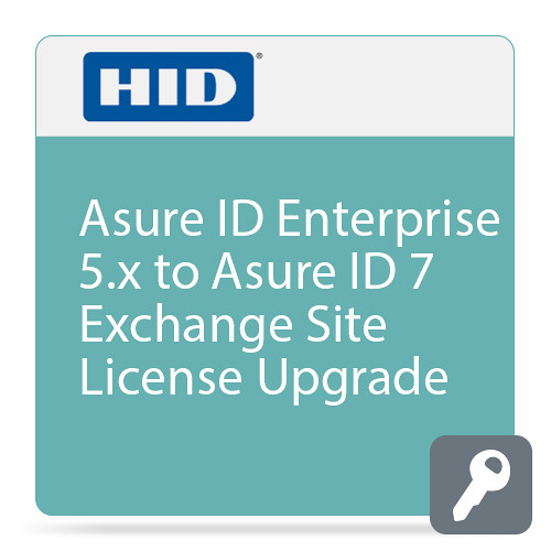 Fargo Asure ID Enterprise 5.x to Asure ID 7 Exchange Site License Upgrade (Price for Licence 1 through 5)