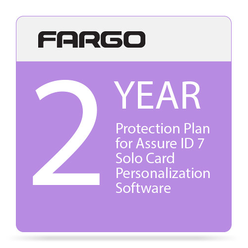 Fargo Protection Plan for Assure ID 7 Solo Card Personalization Software (Two-Year)