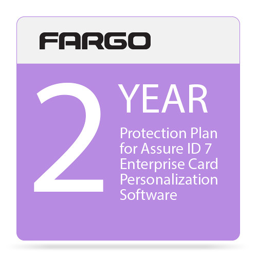 Fargo Protection Plan for Assure ID 7 Enterprise Card Personalization Software (Two-Year)