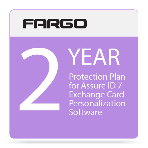 Fargo Protection Plan for Assure ID 7 Exchange Card Personalization Software (Two-Year)