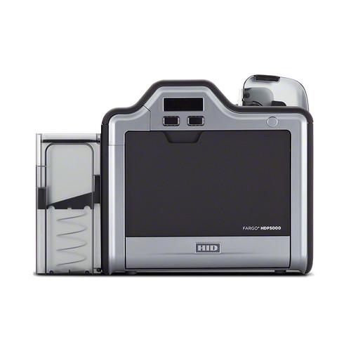 Fargo HDP5000 Single-Sided ID Card Printer (Magnetic Stripe Encoder)