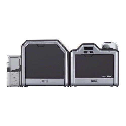 Fargo HDP5000 Single-Sided ID Card Printer (Single-Sided Lamination, Magnetic Stripe Encoder)