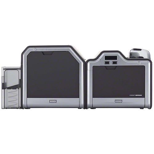 Fargo HDP5000 Single-Sided ID Card Printer (Single-Sided Lamination, Magnetic Stripe Encoder, and 5127 Smart Card Encoder)