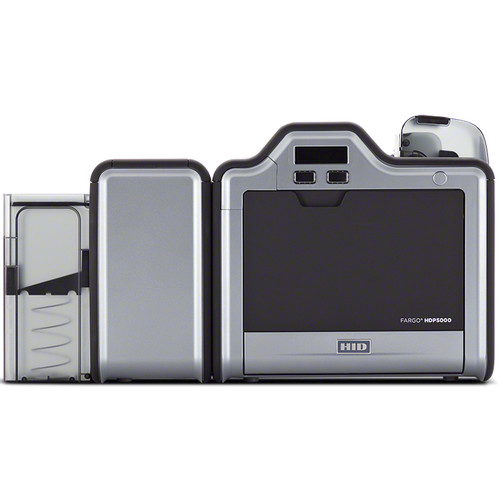 Fargo HDP5000 High-Definition Dual-Sided Printer/Encoder with Omnikey 5121 Contact Smart Card Encoder