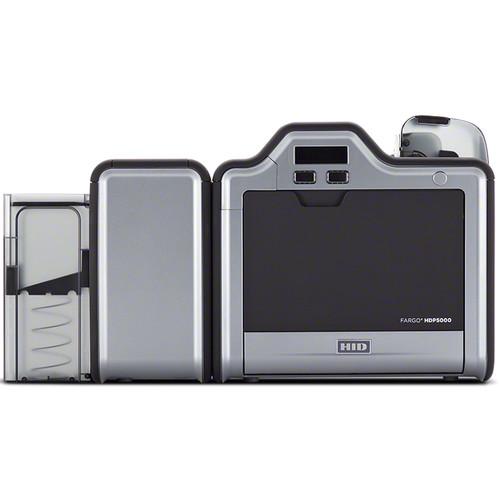 Fargo HDP5000 Dual-Sided ID Card Printer (Magnetic Stripe Encoder, 5127 Smart Card Encoder)