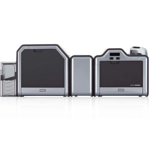 Fargo HDP5000 Dual-Sided ID Card Printer (Dual-Sided Lamination, Magnetic Stripe Encoder, and 5127 Smart Card Encoder)
