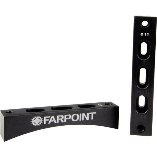 """Farpoint Dovetail Radius Blocks for Celestron 11"""""""