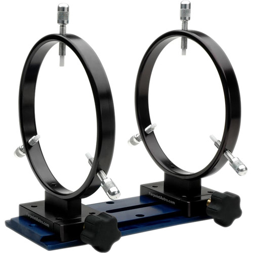 Farpoint 160mm Mounting Rings with Losmandy Dovetail (Set of 2)