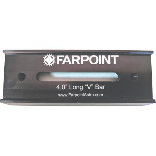 "Farpoint Vixen Style Universal Dovetail Plate (4"")"