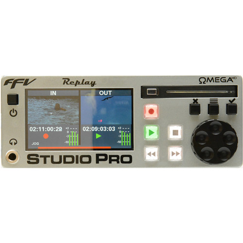Fast Forward Video Omega HD Studio Pro Replay Compact J2K Replay & Time-Shift System with Balanced (XLR) Analog audio