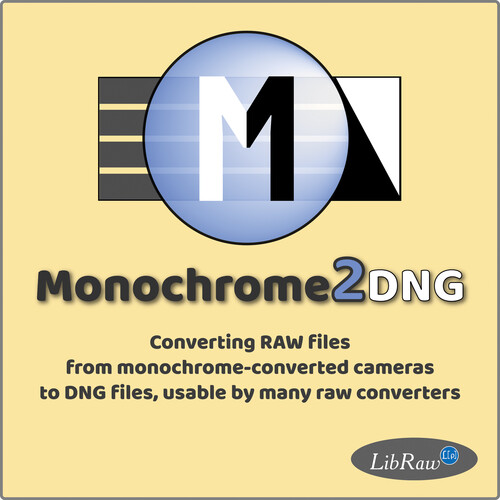 FastRawViewer Monochrome2DNG (Download)