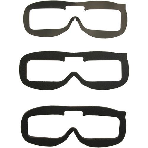 Fat Shark Replacement Velcro Faceplate Foam Kit (Pack of 3)