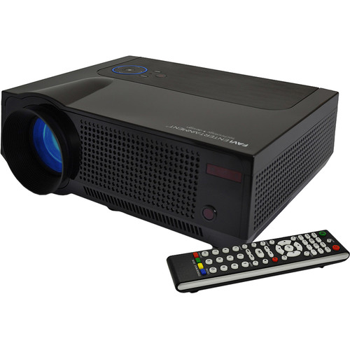 Favi Entertainment RIOHD-LED-4T HD LCD Home Theater Projector