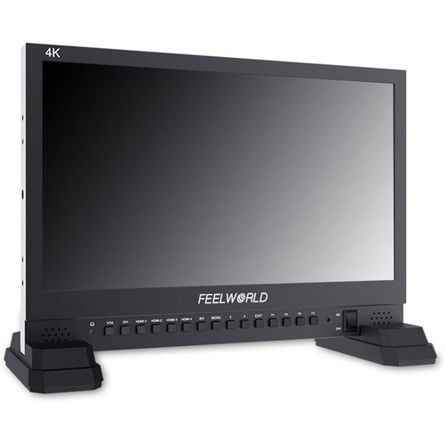 "FeelWorld 15.6"" 4K IPS Broadcast Director Monitor"