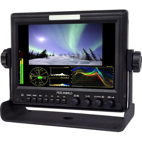 "FeelWorld 7"" 1280 x 800 3G-SDI/HDMI IPS Monitor & Gimbal Handle Kit"