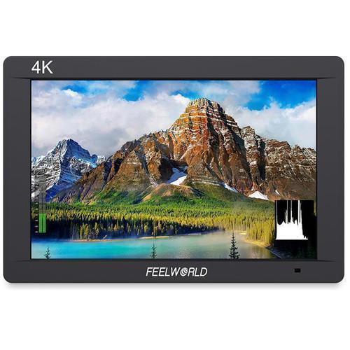 """FeelWorld FW703 7"""" IPS 3G-SDI 4K HDMI On-Camera Monitor"""