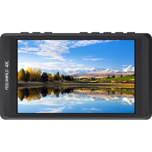 """FeelWorld 4.5"""" 4K On-camera Monitor with HDMI Input/ Output IPS HD 1280x800"""