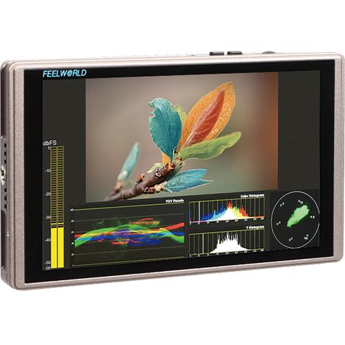 "FeelWorld G70 7"" 1920 x 1200 Full HD On-Camera HDMI 3G-SDI Monitor with Waveform & Vectorscope"