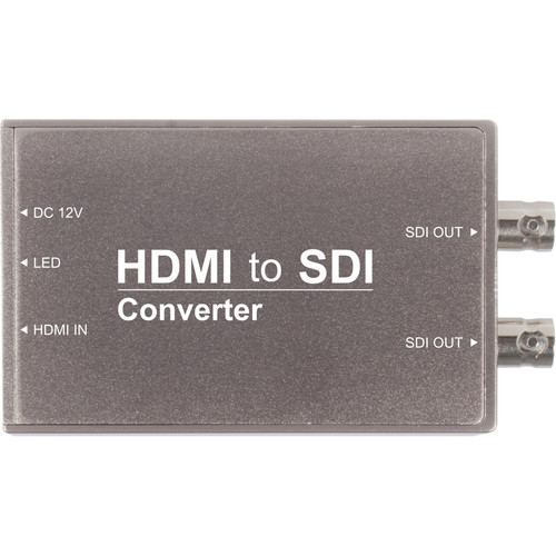 FeelWorld HDMI to SDI Converter (Silver Housing)