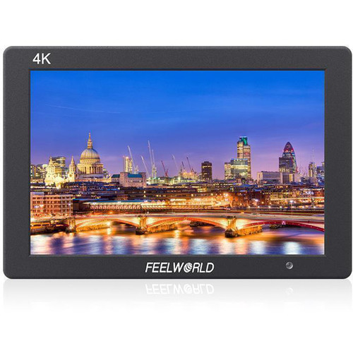 """FeelWorld 7"""" IPS 4K HDMI On-Camera Aluminum Monitor"""