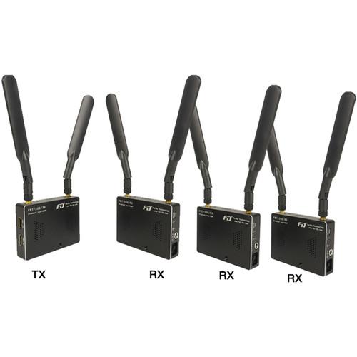 FeiDu HDMI Wireless Video Transmitter and Three Receivers Set