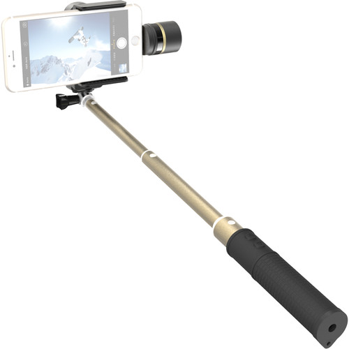 Feiyu SmartStab 2-Axis Selfie Gimbal and Extension Pole for Smartphones